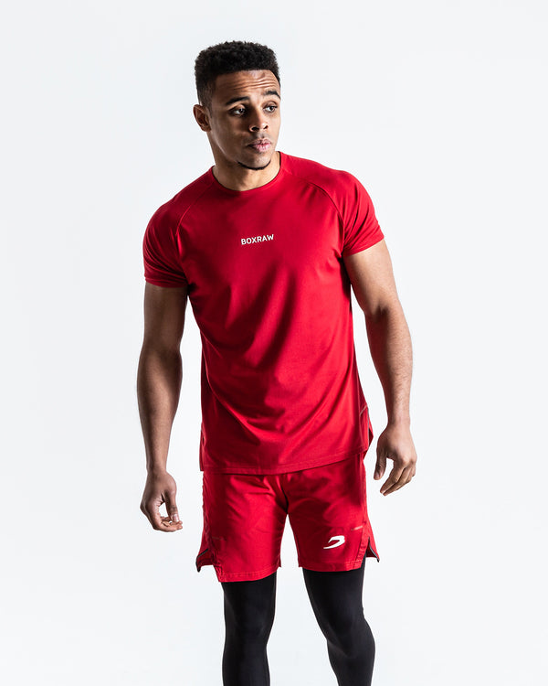 BOXRAW SMRT-TEC T-Shirt - Red