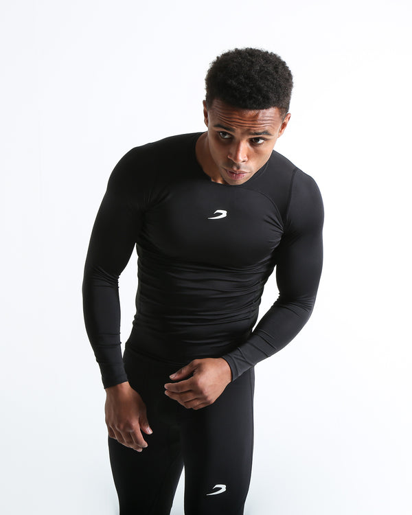 Saddler Compression Top - Black