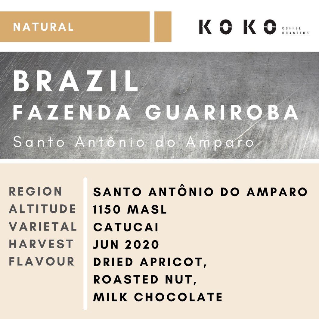 Brazil Fazenda Guariroba (Natural) 200g