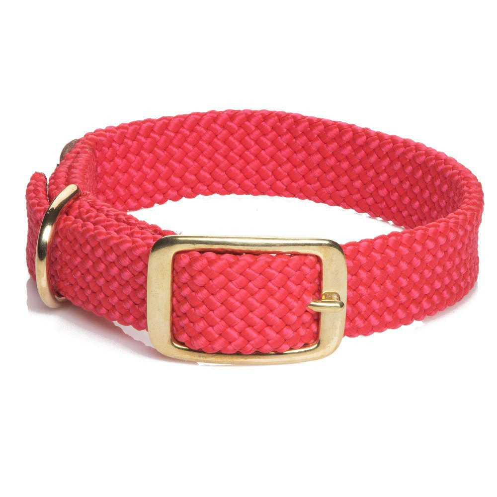 Mendota Double Braided Collar Red