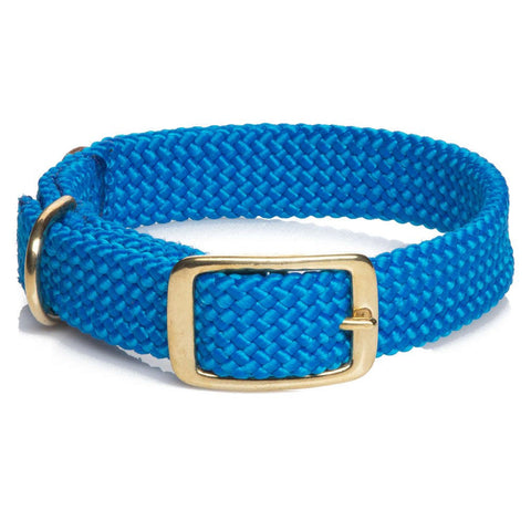 Mendota Double Braided collar Blue