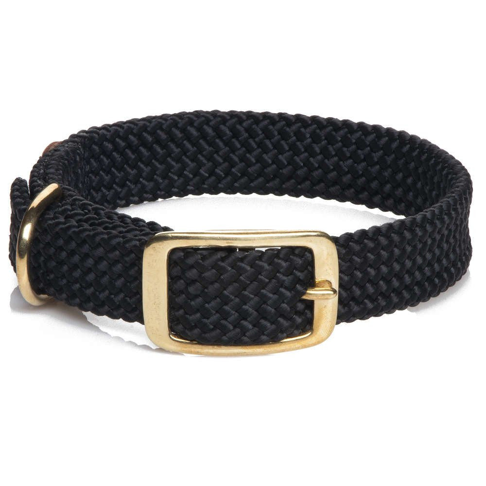 Mendota Double Braided Collar Black