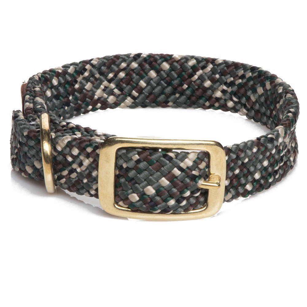 Mendota Double Braided Collar Camo