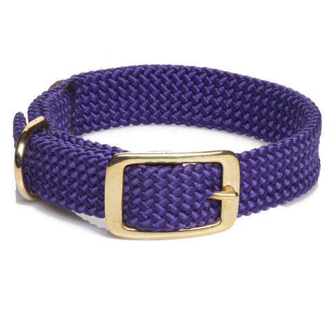 Mendota Double Braided Collar Purple