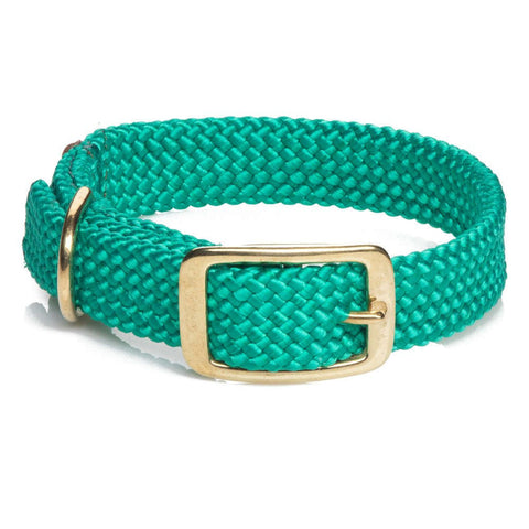 Mendota Double Braided Collar Kelly Green