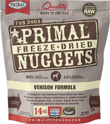 Primal Freeze Dried Venison Nuggets
