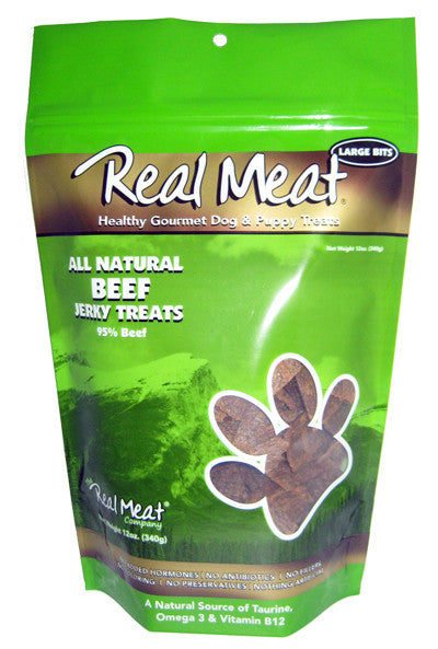Real Meat All Natural Beef Jerky treats