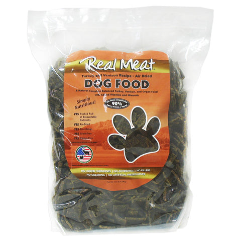 Real Meat Turkey & Venison Dog Food