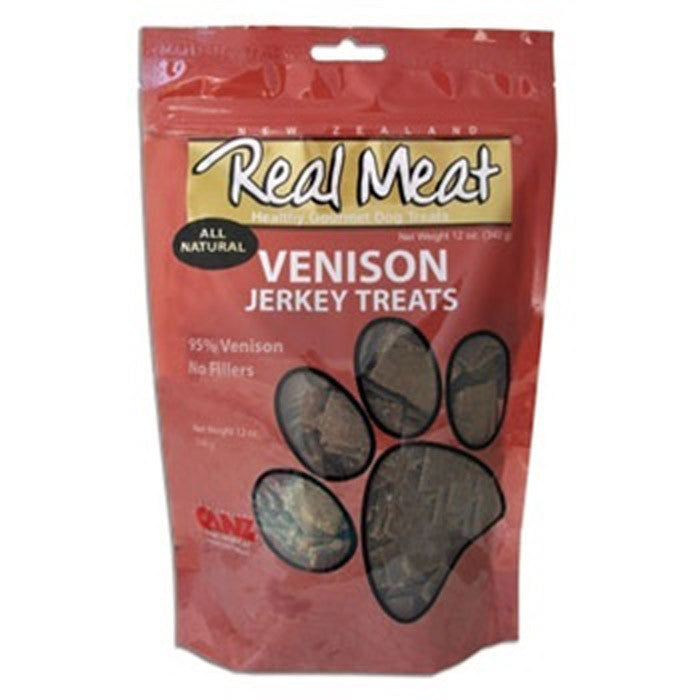 Real Meat All Natural Venison Jerky Treats