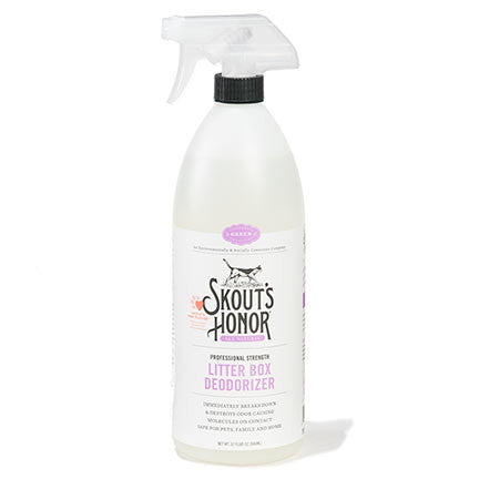 Skouts Honor Litter Box Deoderizer 32oz