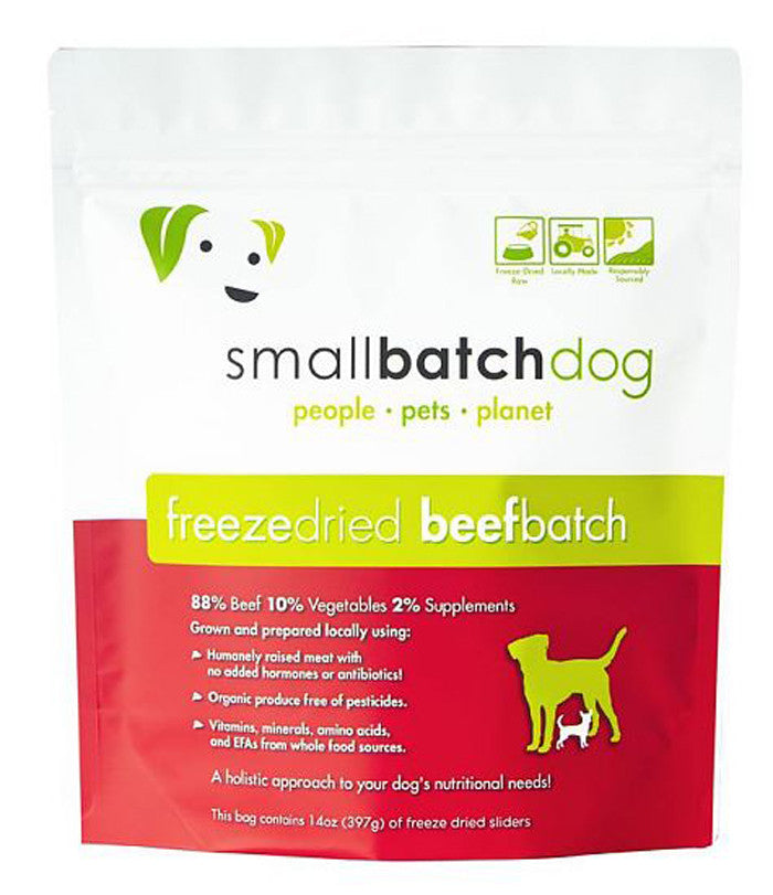 SmallBatch Freeze-dried Beefbatch