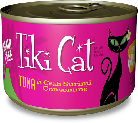 Tiki Cat Tuna in Crab Surimi