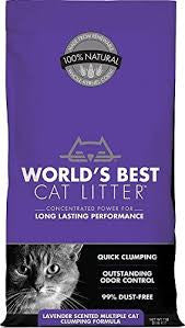 Worlds Best Litter Lavender scented