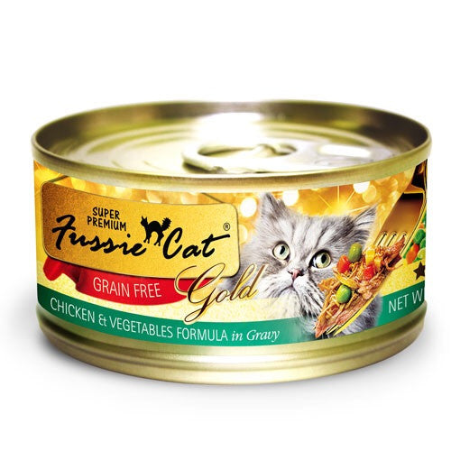 Fussie Cat Gold Chicken & Vegetable