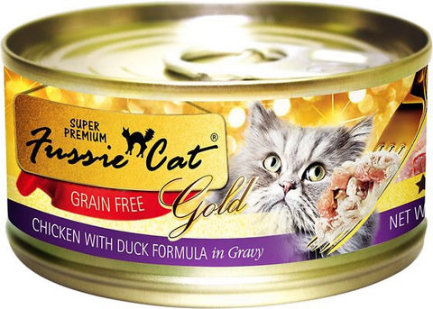 Fussie Cat Gold Chicken & Duck