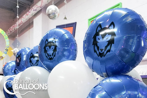 Wolf Birthday Balloons
