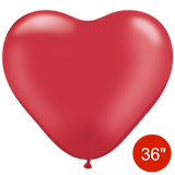 Giant Heart Balloons