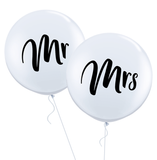 Mr & Mrs Wedding Balloons