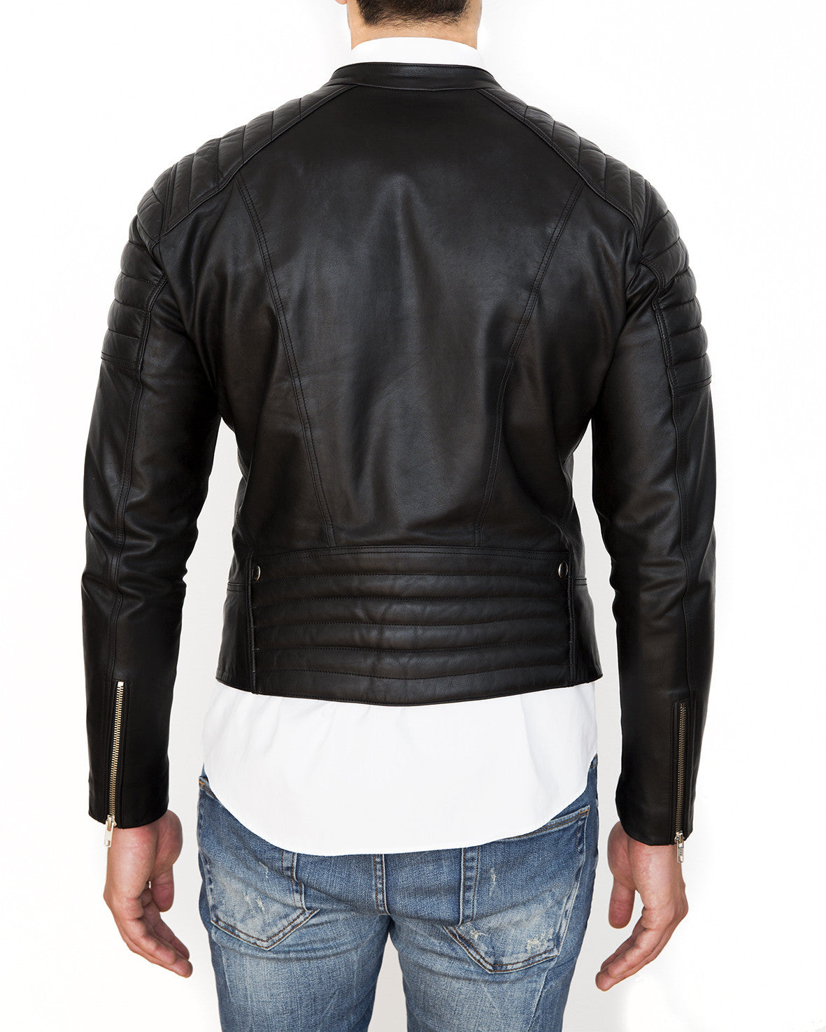KL2 LEATHER BIKER JACKET