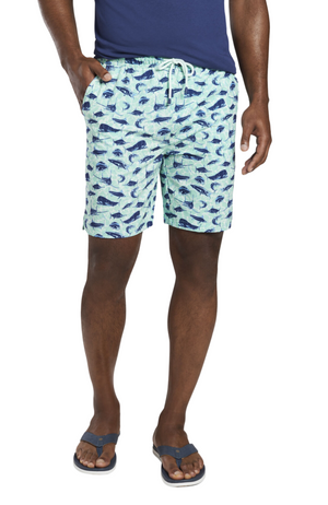 Peter Millar - Deep Sea Fishing Swim Trunk