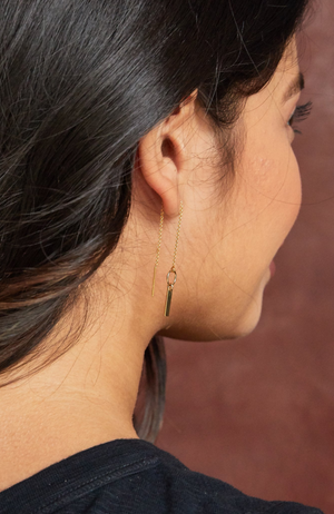 Able Jewelry- Apollo Threader Earrings