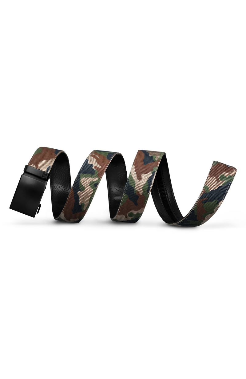 Mission Belt - Camo Nylon with Gunmetal Buckle