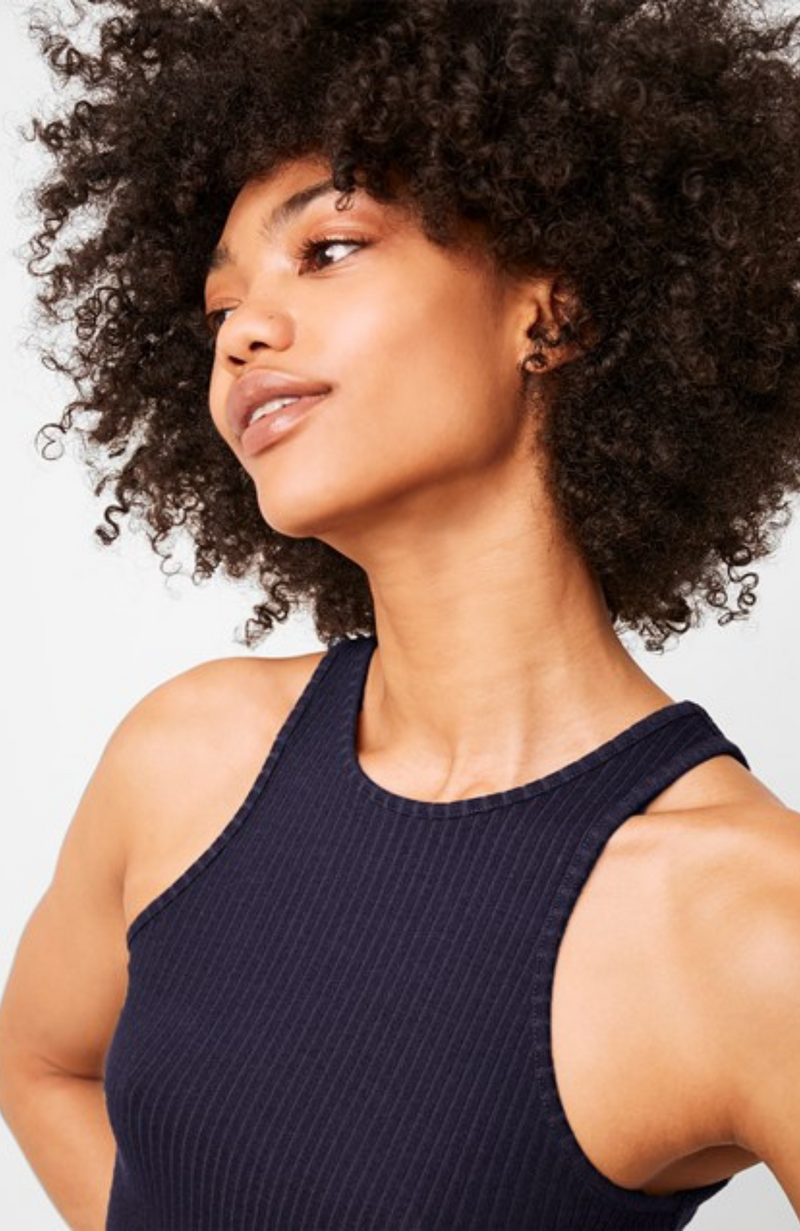 French Connection - Tommy Rib Jersey Dress