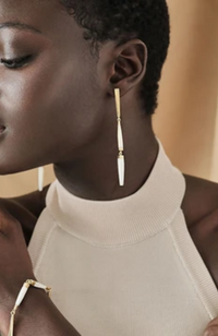 Soko - Imara Mixed Material Dangle Earrings