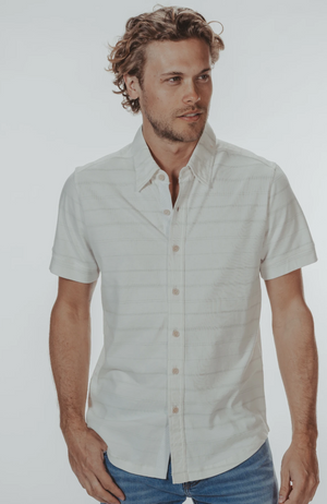 The Normal Brand - Active Puremeso Short Sleeve Button Down
