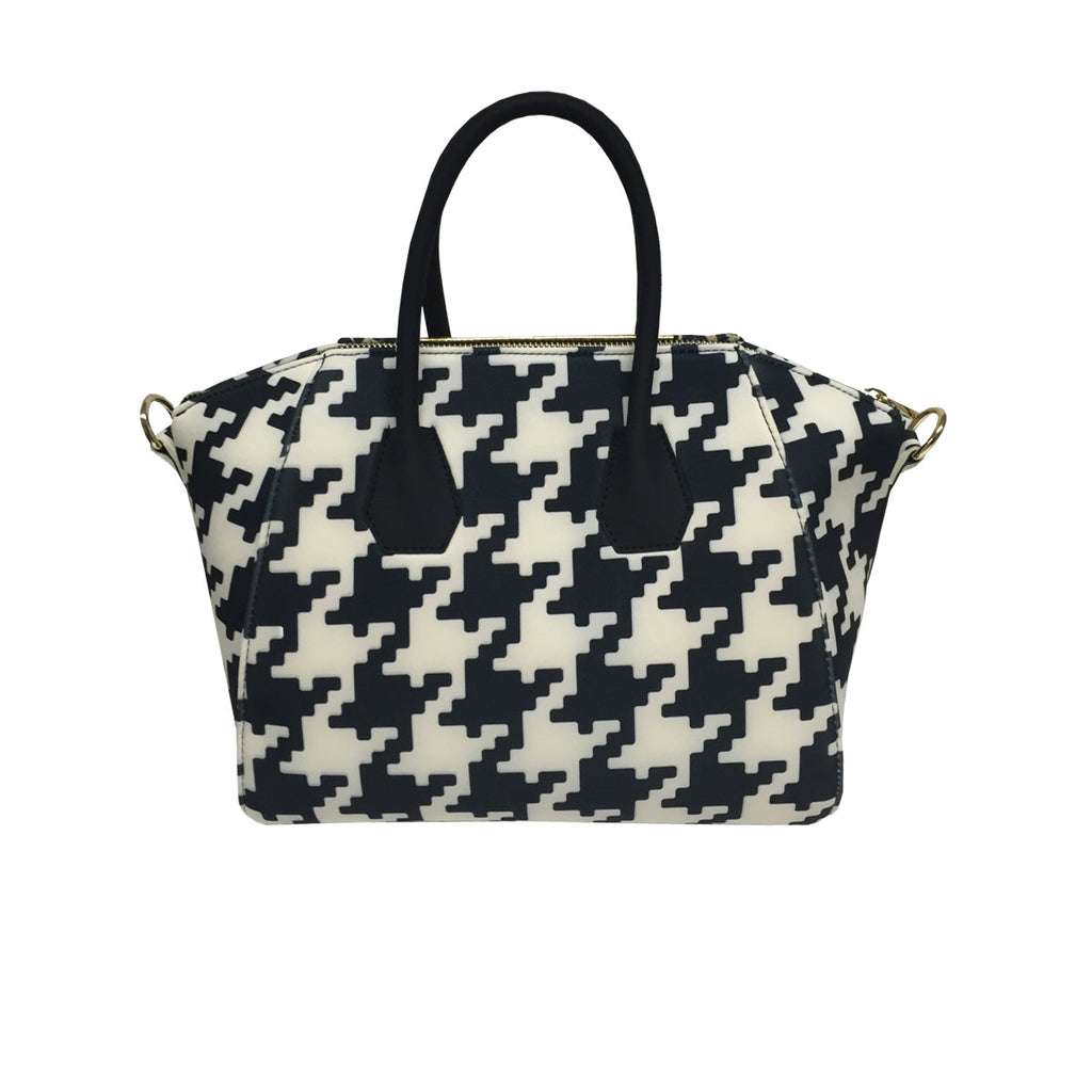 Bag in Cheetah & Pied Poule Print -  Thalassa Boom