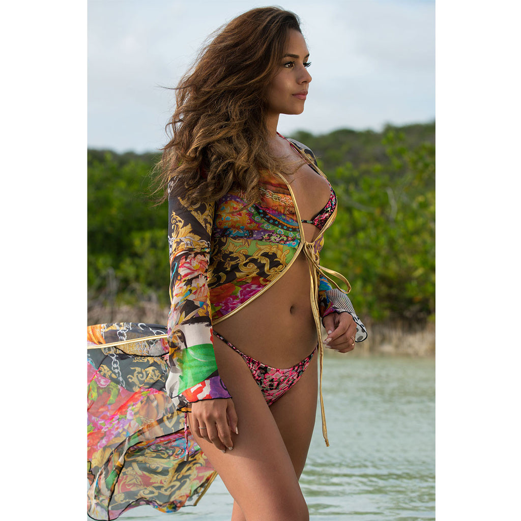 Kiana Cova for Thalassa Boom Thalassa Boom Resort Wear