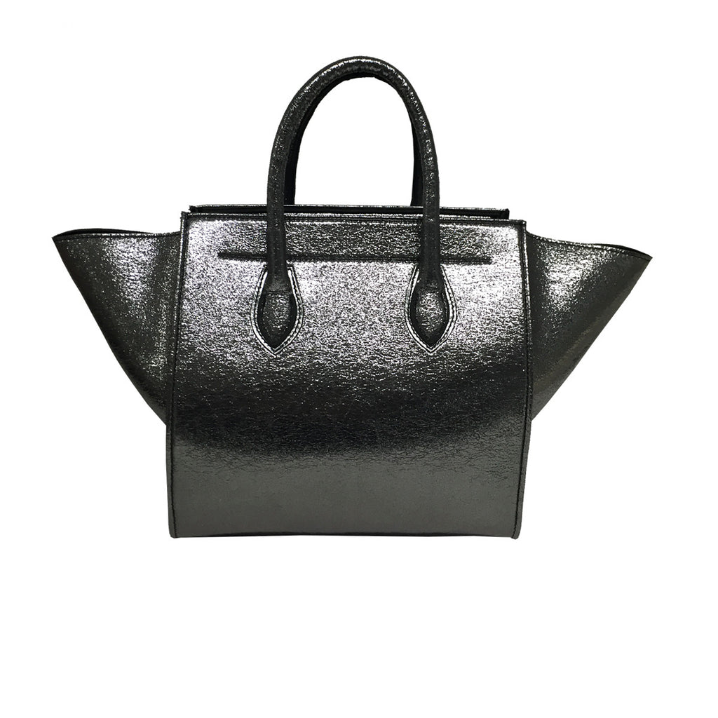 Handbags, Bag in Silver, Thalassa Boom  Resort Wear