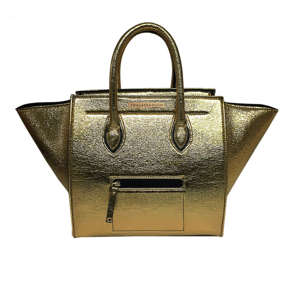 Bags - Bag in Gold -  Thalassa Boom - 1