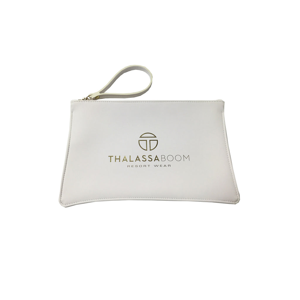 "White Pouch ""Too Glam To Give a Damn"" -  Thalassa Boom"