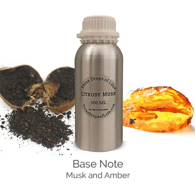 Citrusy Musk Aromatherapy Scent