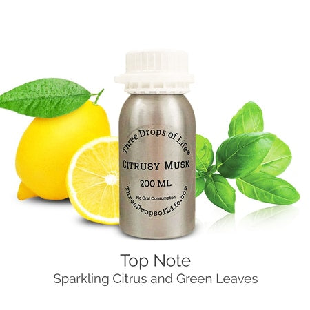 Citrusy Musk - Diffuser Scent Oil