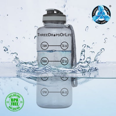 Three Drops of Life Water Bottle