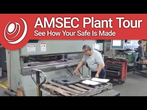 American Security Plant Tour - See How Your Safe Is Made