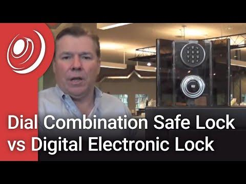 Dial Combination Safe Lock vs Digital Electronic Lock with Dye the Safe Guy