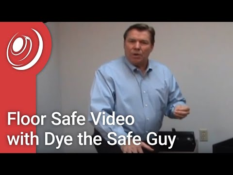 Floor Safe Video with Dye the Safe Guy