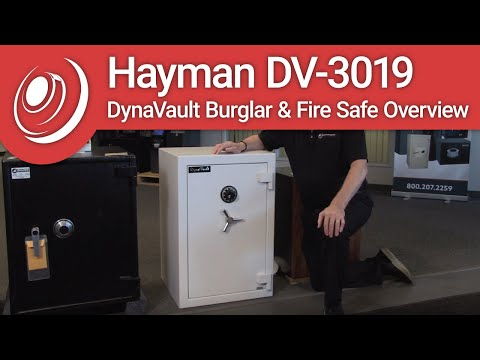 Hayman DV-3019 DynaVault Burglar & Fire Safe Overview with Dye the Safe Guy