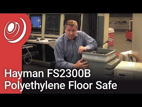 Hayman FS2300B Polyethylene Floor Safe Video