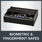 Biometric Fingerprint Safes Icon