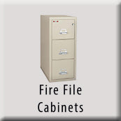 Fire File Cabinets Icon