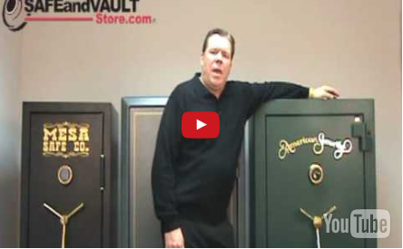 Watch the Gun Safes Video with Dye the Safe Guy Video