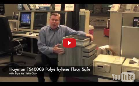 Watch the Hayman FS4000B Polyethylene Floor Safe Video