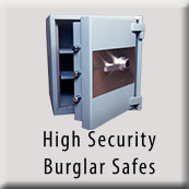 High Security Burglar Fire Safes Icon