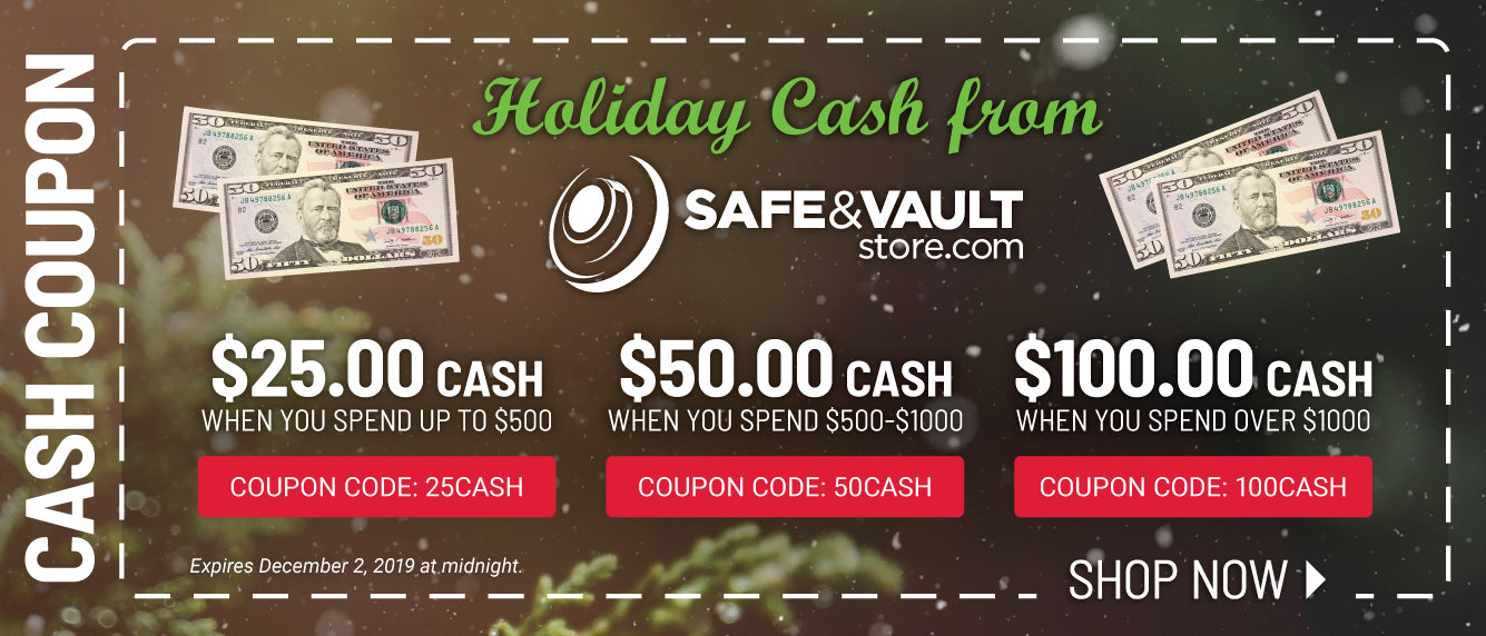 Holiday Cash from Safe & Vault Store