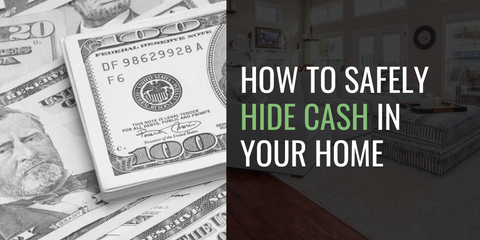 How to safely hide money in your home