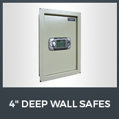 "4"" Deep Wall Safes"